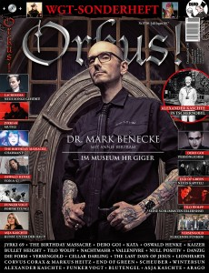 Cover Orkus Mark Benecke