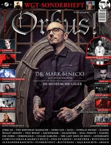 Cover Orkus Mark Benecke